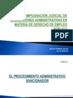 IMPUGNACIÓN JUDICIAL DE RESOL. ADM.