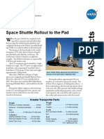 NASA Facts Space Shuttle Rollout to the Pad 2006