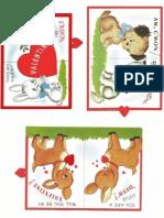 Retro Valentine Printable