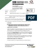 INFORME 39 - MEMORANDO MULTILPE