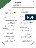 Problemas Resueltos de Funciones Unidad 14 - Algebra Ccesa007
