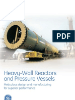 Heavy Wall Reactors Pressure Vessels