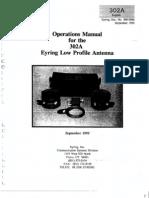 Eyring - ELPA 302A Operations Manual