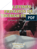 Cartas de Shamballa 3 - EL MORYA (Thomas PRINTZ)