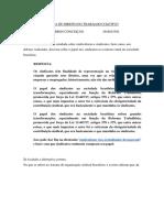 Direito do Trabalho Coletivo-1bim-2020