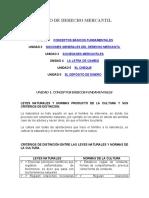 CURSO DE DERECHO MERCANTIL