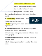 state verbs part two