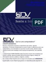 sesión1-Informatica para negociosI-INTRODUCCION