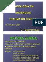Radiologia en Urg Traumatologicas