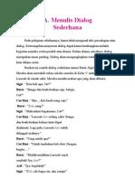 Materi Bahasa Indonesia Kelas 5 Sd