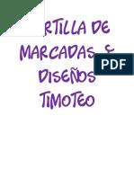 Cartilla de marcadas  y diseños timoteo.pdf