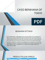 CASO BENIHANA OF TOKIO.pptx