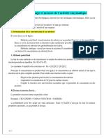 Ch-4-5 Méthodes de dosage et mesure de lactivité enzymatique