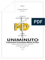 ACTIVIDAD 4 - SEGMENTACION  DE MERCADOS