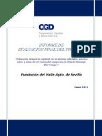 Informe de evaluación - Sevilla