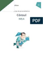 """Personalidad """"Cónsul"""" (ESFJ-A _ ESFJ-T) _ 16Personalities"""