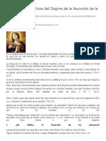 Fundamentos Bíblicos del Dogma de la Asunción de la Virgen María