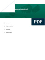 Los modelos de integración regional