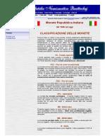 Filatelia Numismatica Quattrobaj - Note al catalogo monete - Repubblica Italiana