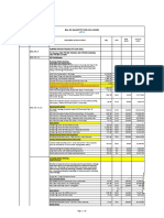 Annexure I - Bill of Quantities - Priced
