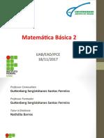 Matemática Básica - Aulas 5,6,7 (1)