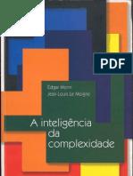 A Inteligência Da Complexidade - Morin