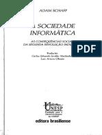 A sociedade informática - Adam Schaff.pdf