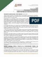 VE-760 AMLO CPM, 10feb20