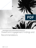 SharePoint Findings and Recommendations