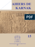 The Triumph Scene and Text of Merenptah at Karnak