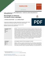 Neuroimagen en demencia correlacion clinicopatologica