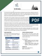 BSE TASIS Shariah 50 Index Factsheet