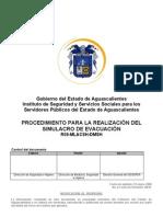 Procedimiento para la realizacion de un simulacro de evacuacion[1]