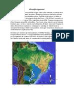 El acuífero guaraní