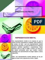 REPRESENTACION MENTAL DIAPOSITIVAS