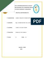 CUESTIONARIO  quimica analitica I PRACTICA 4