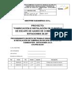 PETS-PROCEDIMIENTO-678-M-001 TUBERIAS GASES DE ESCAPE ESTACIÓN 20-25