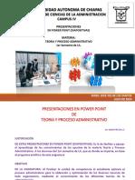 Teoría y proceso administrativo