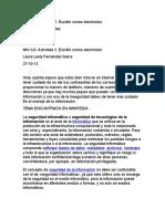 MIV-U2- Actividad 2. Escribir correo electrónico