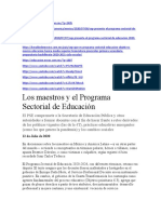 8.- Programa Sectorial de Educación 20-24