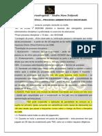 EOAB - processo administrativo