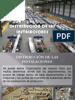 DISTRIBUCION DE LAS INSTALACIONES