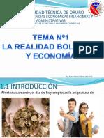 TEMA Nº1 La Realidad Boliviana y La Economía
