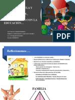 1. RELACION FAMILIA ESCUELA Y SOCIEDAD