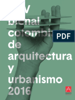 XXV Bienal Colombiana de Arquitectura y Urbanismo SCA