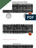 21. Cartas Ordenes de Crédito