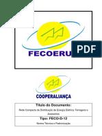 Rede Compacta de Distribuicã o de Energia Eletrica Ferragens e Acessorios