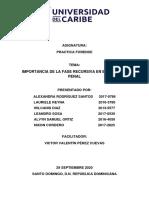 IMPORTANCIA DE LA FASE RECURSIVA EN EL PROCESO PENAL TRABAJO FINAL
