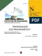Propagación electromagnética antenas