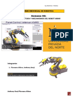 Robótica robot ARMX